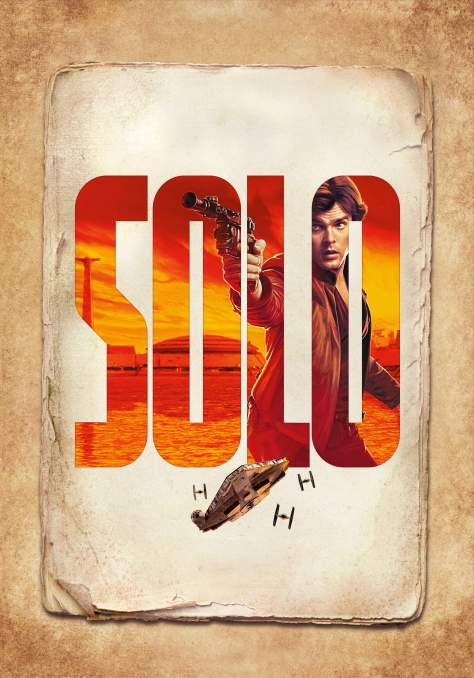 SOLO - A Star Wars Story High Resolution Textless Posters - Han Solo