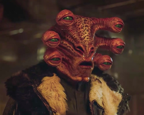"Argus ""Six Eyes"" Panox The New Creature of SOLO _ A Star Wars Story"
