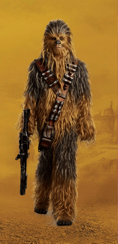 Characters of SOLO A Star Wars Story - Chewbacca