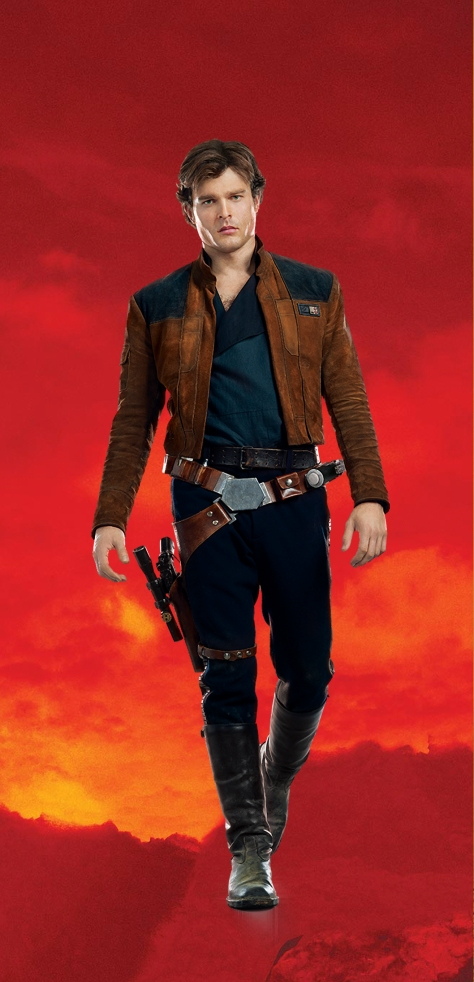 Characters of SOLO A Star Wars Story - Han Solo