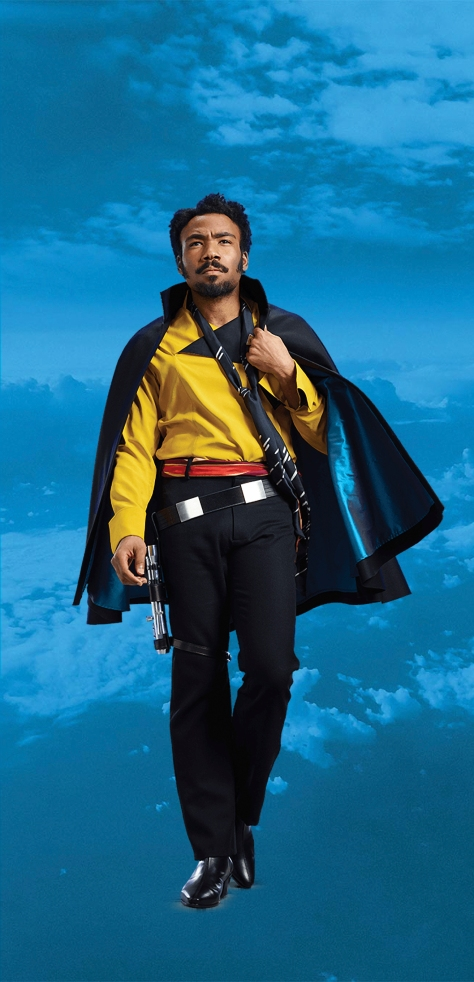 Characters of SOLO A Star Wars Story - Lando Calrissian