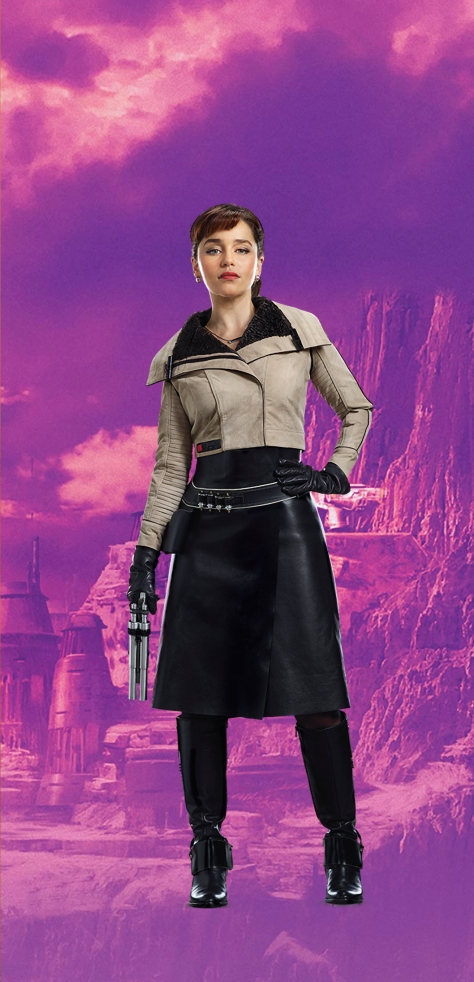 Characters of SOLO A Star Wars Story - Qi'Ra