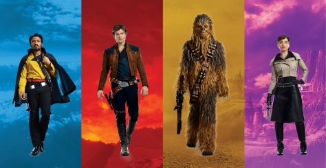 Characters of SOLO A Star Wars Story
