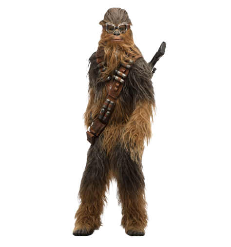 Chewbacca Solo A Star Wars Story Cut Out Characters with Transparent Background PNG