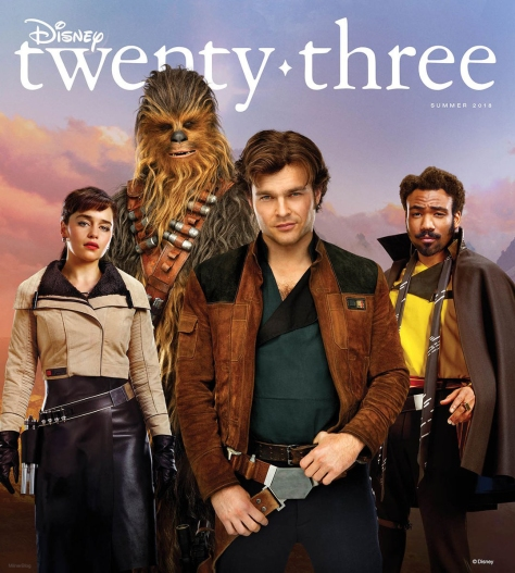 Disney D23 SOLO A Star Wars Story Cover