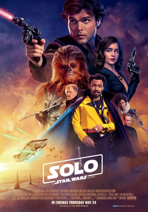 SOLO: A Star Wars Story UK Theatrical Film Poster Revealed