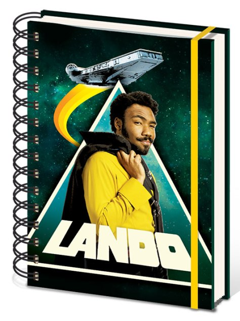 New Lando Notebook Merchandise for SOLO _ A Star Wars Story _ 10