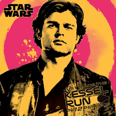 New Kessel Run Poster for SOLO _ A Star Wars Story