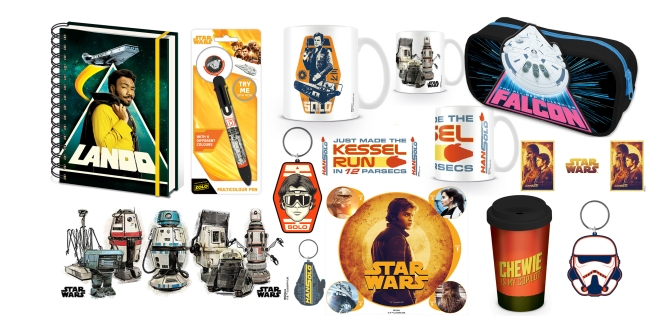 New Merchandise for SOLO _ A Star Wars Story