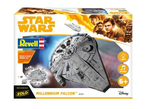 New Revell Merchandise for SOLO _ A Star Wars Story _ Millennium Falcon