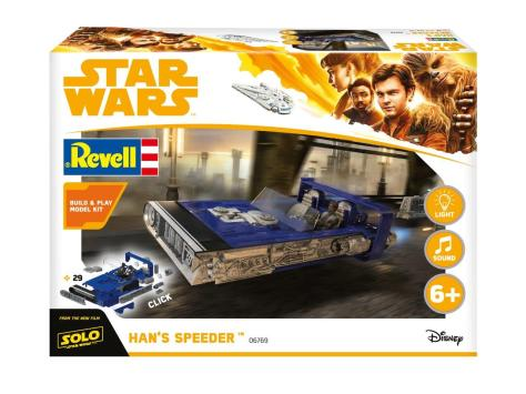 New Revell Merchandise for SOLO _ A Star Wars Story _ Hans Speeder