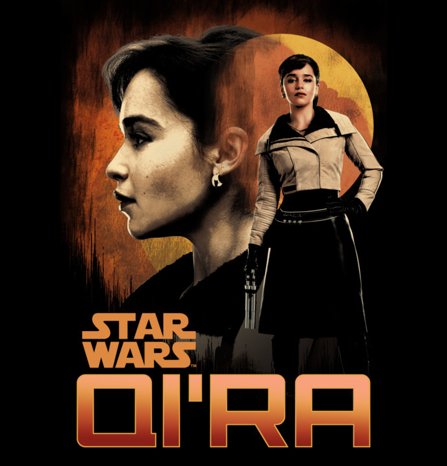 New Solo : Star Wars Story T-Shirt Art Revealed | Milners Blog