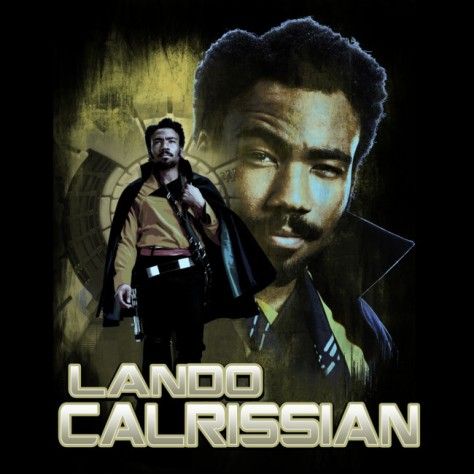 New Solo A Star Wars Story Artwork Posters Lando