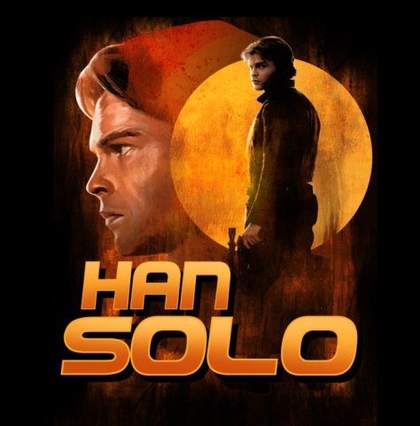 New Solo A Star Wars Story Artwork Posters