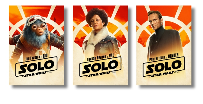 SOLO: A Star Wars Story New Character Posters