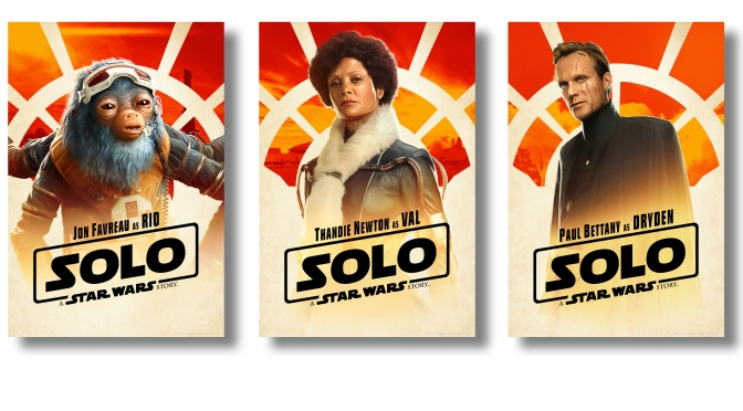 New Solo A Star Wars Story Character Posters Large Hi Resolution
