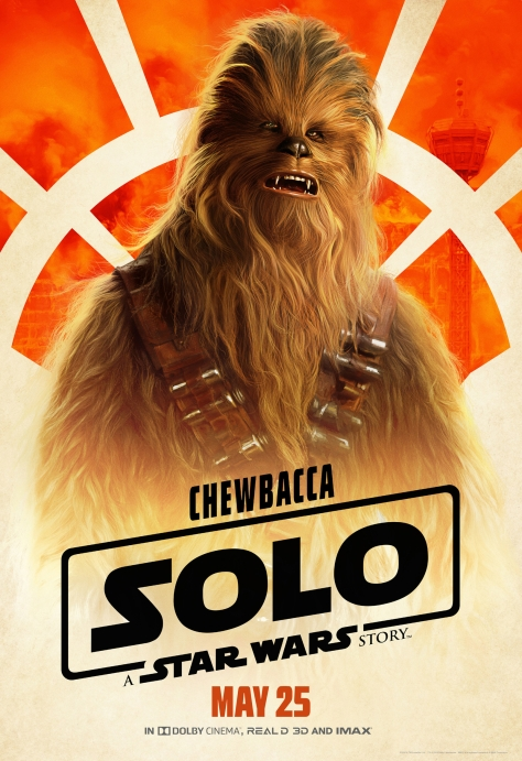 New Solo A Star Wars Story Chewbacca Character Posters Large Hi Resolution