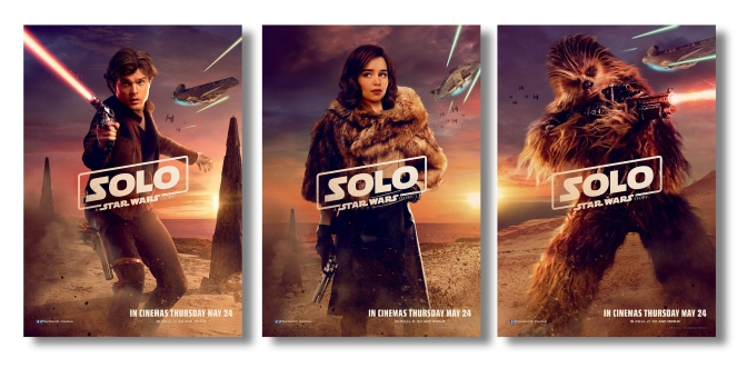 New Solo A Star Wars Story International Character Posters Large Hi Resolution