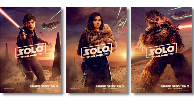 SOLO: A Star Wars Story New International Character Posters