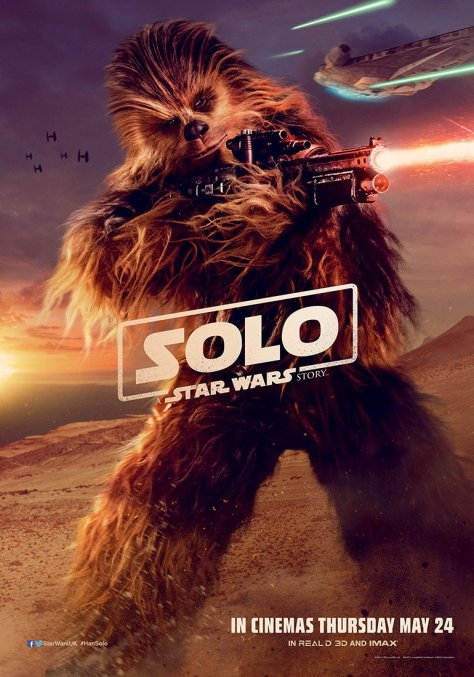 New Solo A Star Wars Story International Chewbacca Character Posters Large Hi Resolution