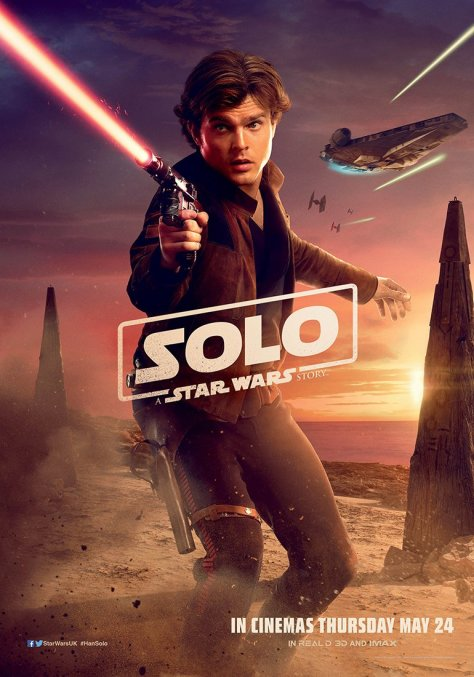 New Solo A Star Wars Story International Han Solo Character Posters Large Hi Resolution 3