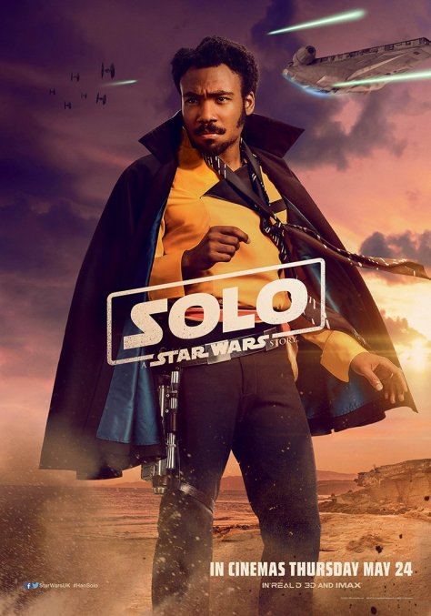 New Solo A Star Wars Story International Lando Character Posters Large Hi Resolution