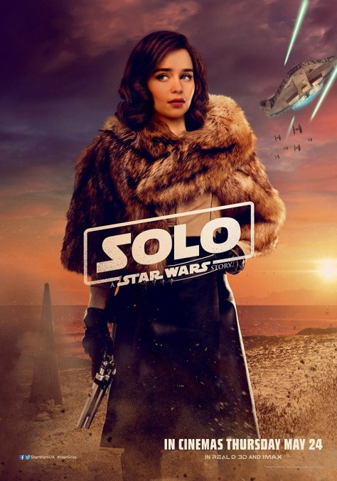 New Solo A Star Wars Story International Qira Character Posters Large Hi Resolution