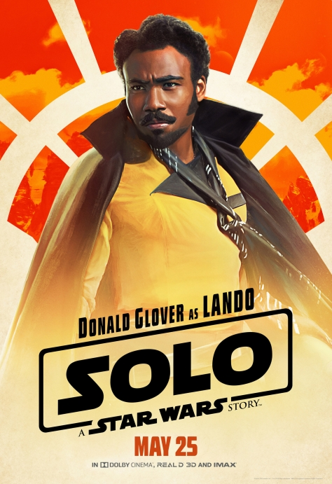 New Solo A Star Wars Story Lando Character Posters Large Hi Resolution