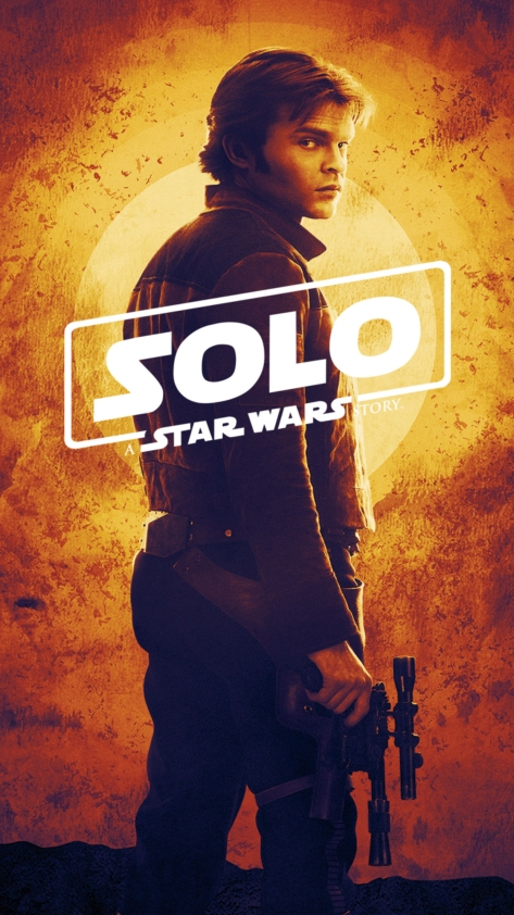 NEW - SOLO A Star Wars Story Poster E Leclerc Collectors Album iTunes
