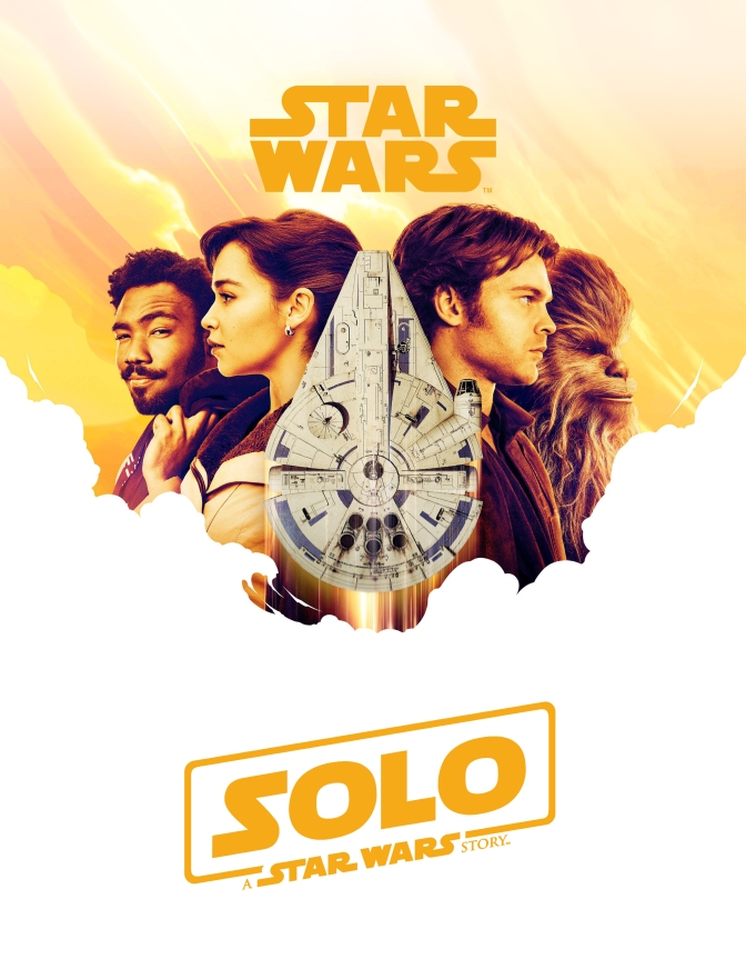 NEW - SOLO A Star Wars Story Poster E Leclerc Magazine Cover