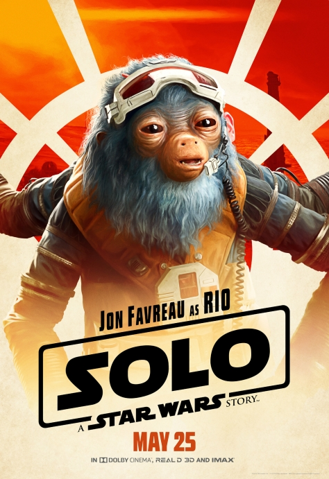 New Solo A Star Wars Story Rio Character Posters Large Hi Resolution
