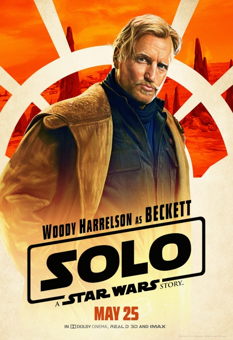 New Solo A Star Wars Story Tobias Beckett Character Posters