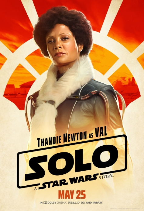 New Solo A Star Wars Story Val Character Posters Large Hi Resolution
