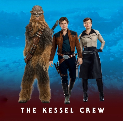 Solo A Star Wars Story Character Posters Heroes and Villains