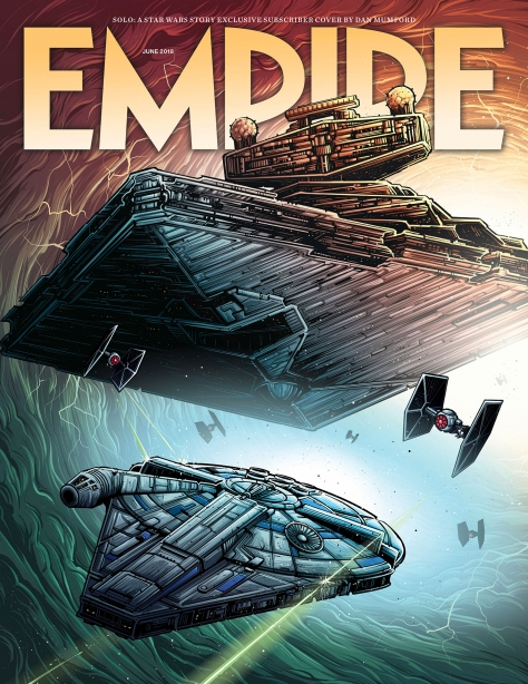 Solo A Star Wars Story Empire Magazine Dan Munford Cover