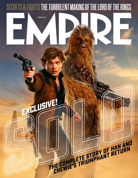 Solo A Star Wars Story Empire Magazine Newsstand Cover3
