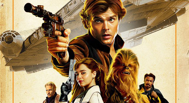 SOLO A Star Wars Story Official Japanese Theatrical Film Poster Banner