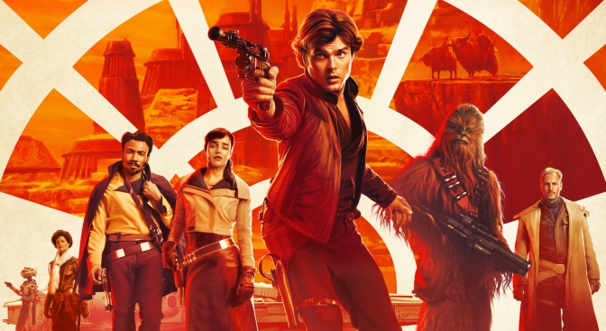 Solo - A Star Wars Story Official Theatrical Movie Film Poster Ultra Hi Resolution Banner