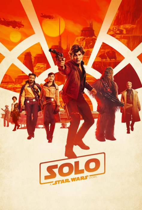 Solo - A Star Wars Story Official Theatrical Movie Film Poster Ultra Hi Resolution Clean Version