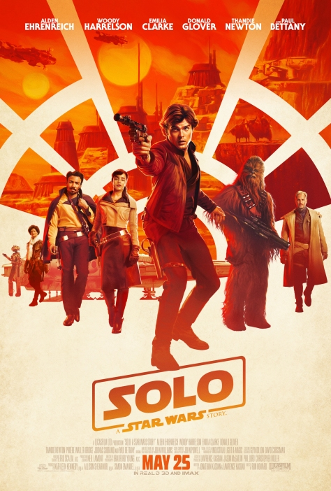 Solo - A Star Wars Story Official Theatrical Movie Film Poster Ultra Hi Resolution