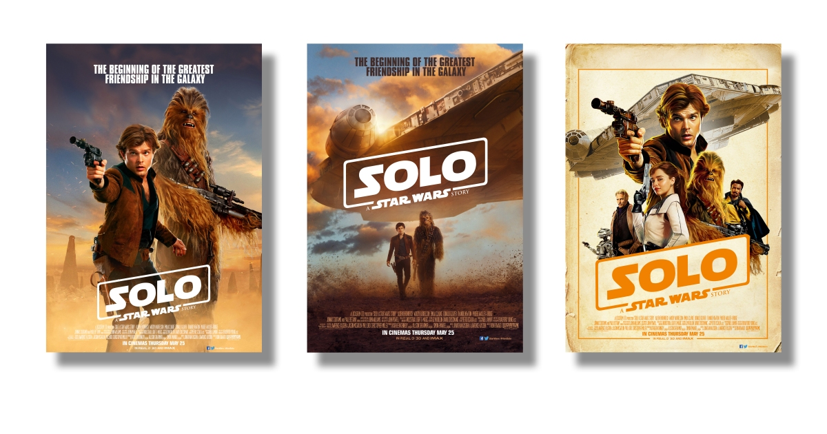 SOLO : The Beginning of the Greatest Friendship in the ... Lyric Typography Poster