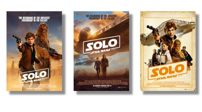 SOLO A Star Wars Story - The Beginning of the Greatest Friendship in the Galaxy Movie Poster Banner