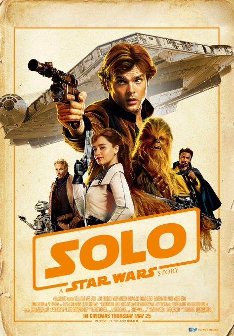SOLO A Star Wars Story - The Japanese Movie Poster in English