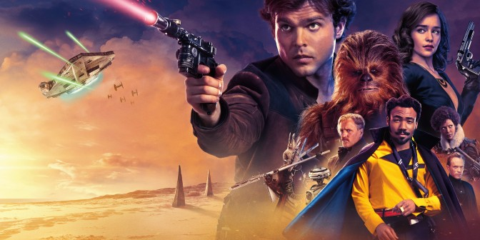 Solo A Star Wars Story UK Theatrical Poster Banner Large Hi Resolution
