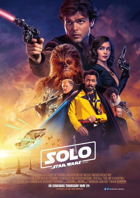 Solo A Star Wars Story UK Theatrical Posters Large Hi Resolution