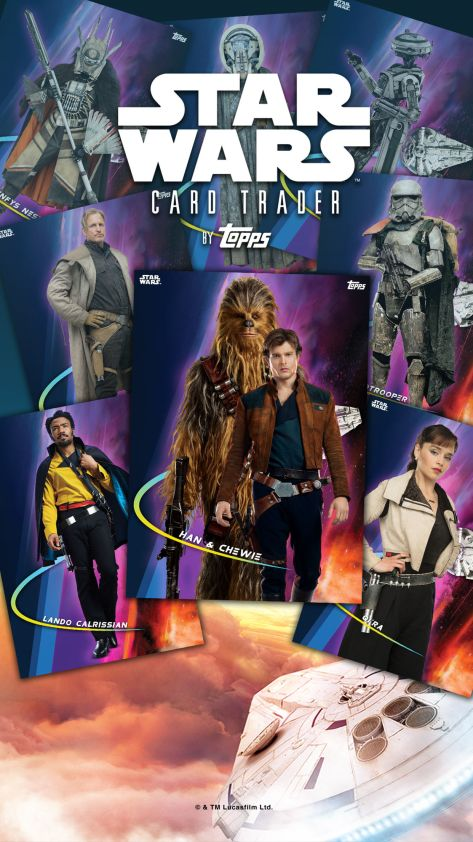Star Wars Topps Trader Card Game App Solo A Star Wars Story 3