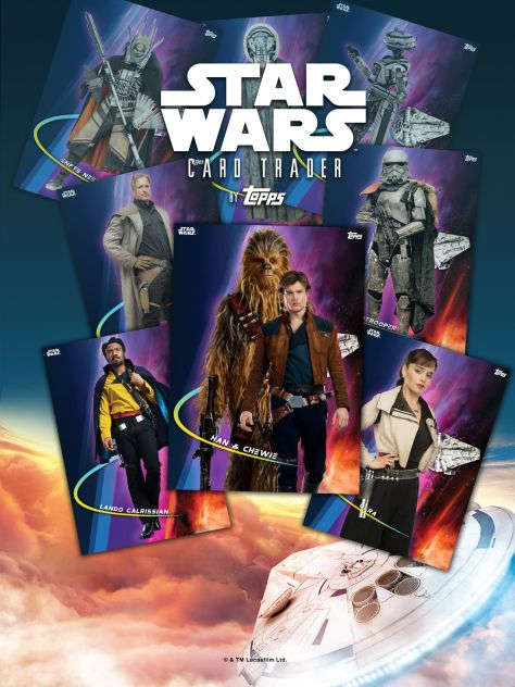 Star Wars Topps Trader Card Game App Solo A Star Wars Story