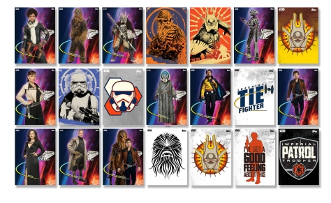 Star Wars Topps Trader Card Game App Solo A Star Wars Story Cards