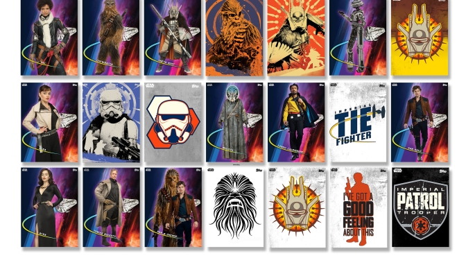 New Solo: A Star Wars Story Topps Trader Cards