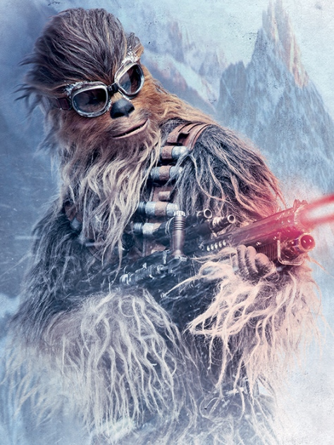 The New Posters for SOLO _ A Star Wars Story _ Chewbacca